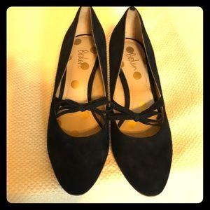 Boden suede heels size 7